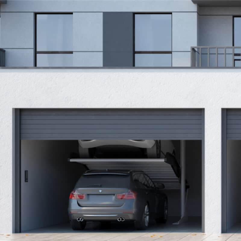 sisteme de parcare modulo slant